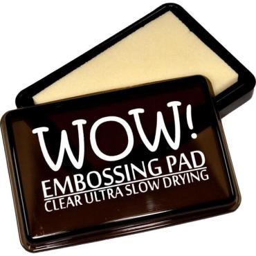 WOW Embossing Pad, Ultra Slow Drying - Clear - 5060210523831