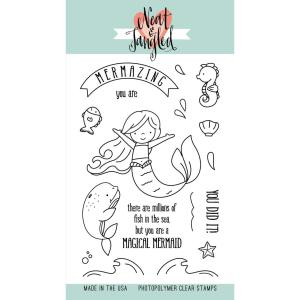 Neat & Tangled Clear Stamps, Mermazing - 859529006891