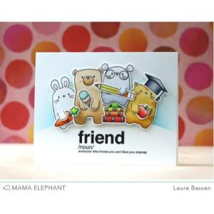 Mama Elephant Clear Stamps, Page Huggers -