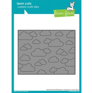 Lawn Cuts Dies, Stitched Cloud Backdrop: Landscape - 035292667976