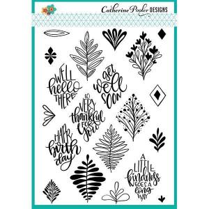 Catherine Pooler Clear Stamps, Say It In Diamonds - 819447021970
