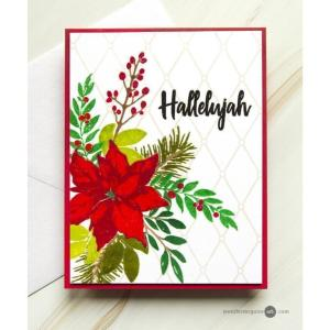 Holiday Bow, Altenew Clear Stamps - 655646173160