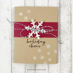 Snow Flurry, Concord & 9th Clear Stamps - 902223993650