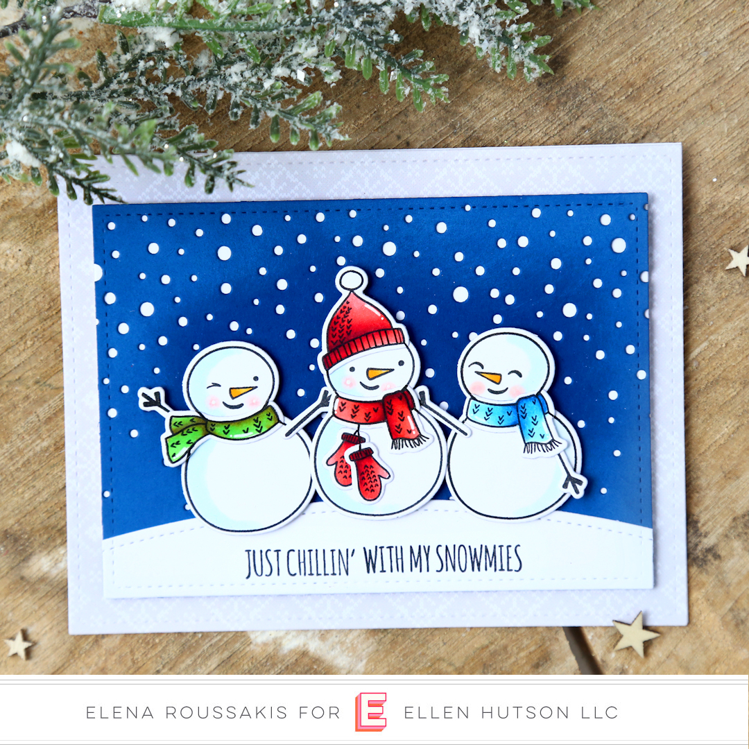 Essentials by Ellen Snow Buds card by Elena Roussakis
