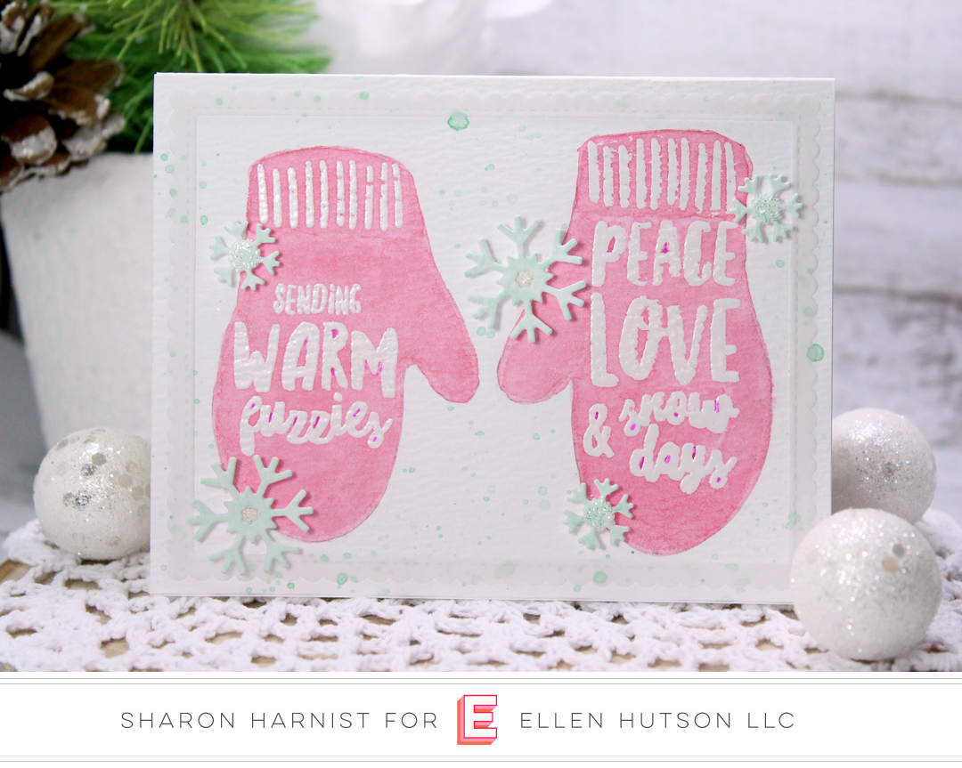 Essentials by Ellen Snow Days card by Sharon Harnist