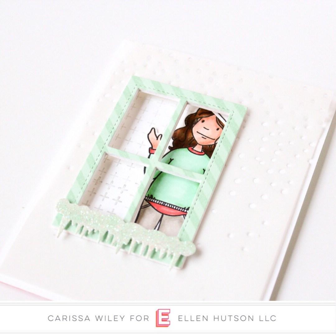 Essentials by Ellen Snowfall Backdrop by Carissa Wiley