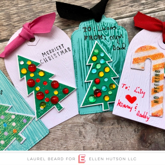 12 Tags of Christmas with a Feminine Twist 2018 – Day 6 with Laurel Beard and Carly Tee Minner