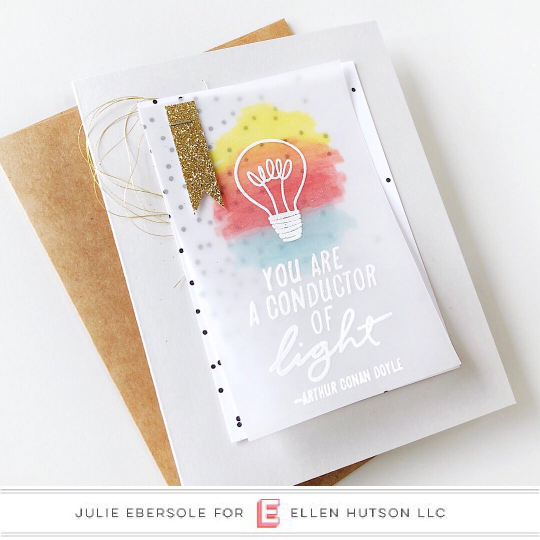 Essentials by Ellen Conductor of Light 12th Anniversary stamp set