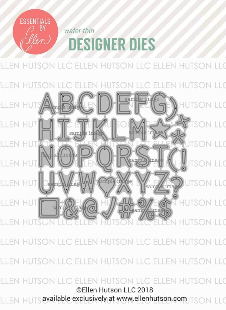 Essentials by Ellen Letterboard Large Alpha