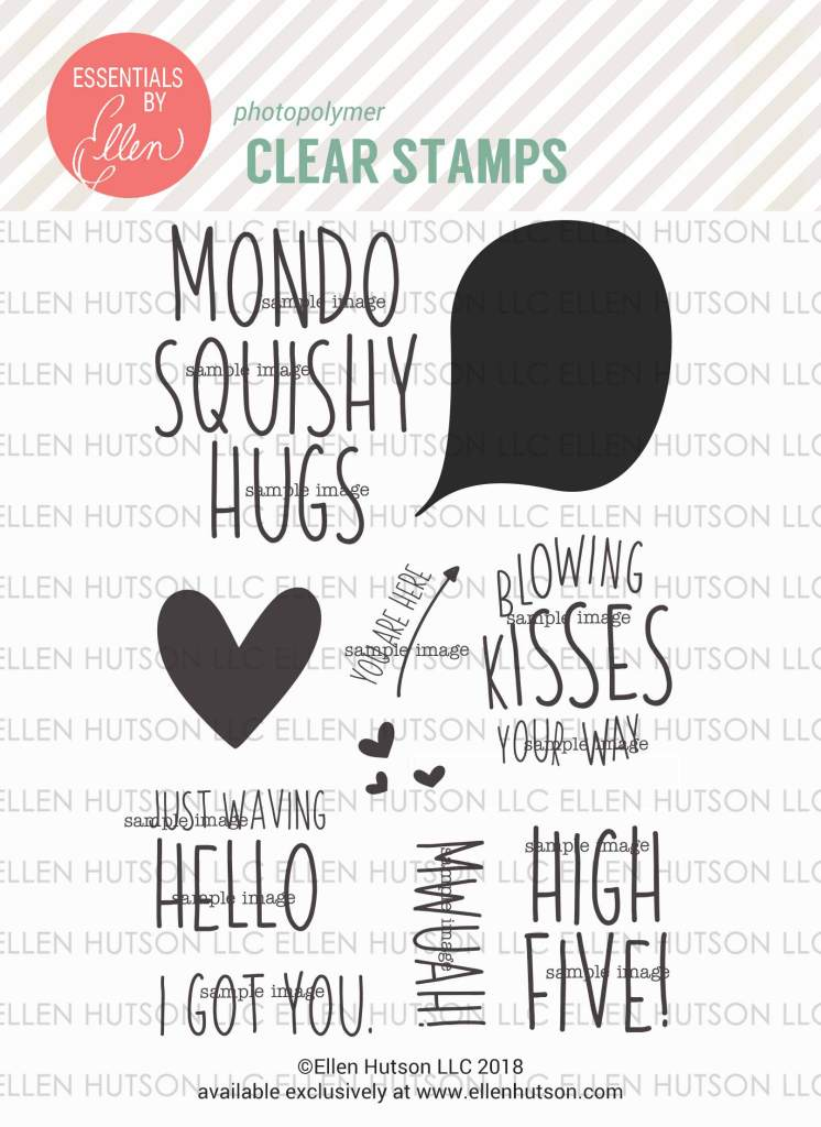 Essentials by Ellen High Five stamps