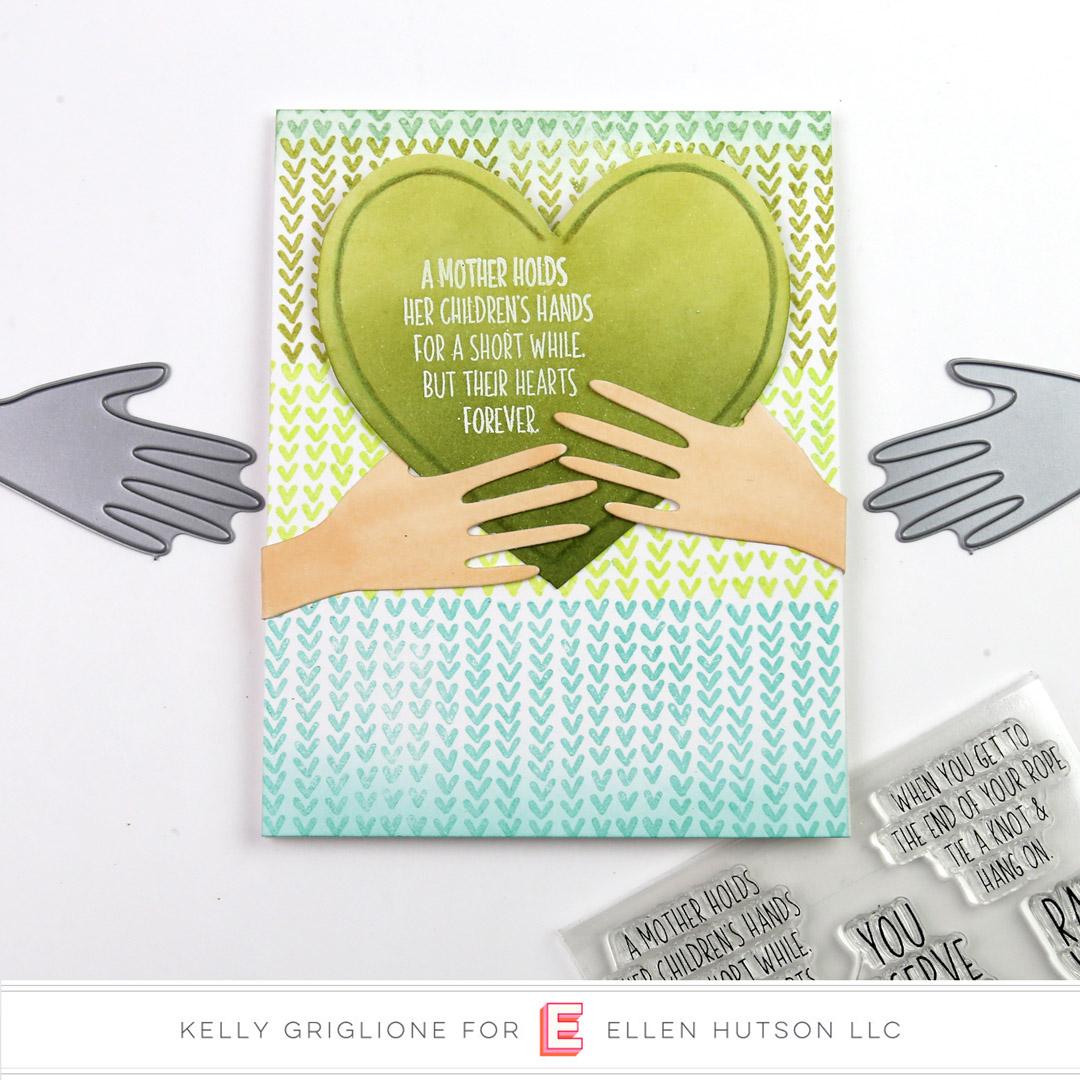 Essentials by Ellen Hands card by Kelly Griglione