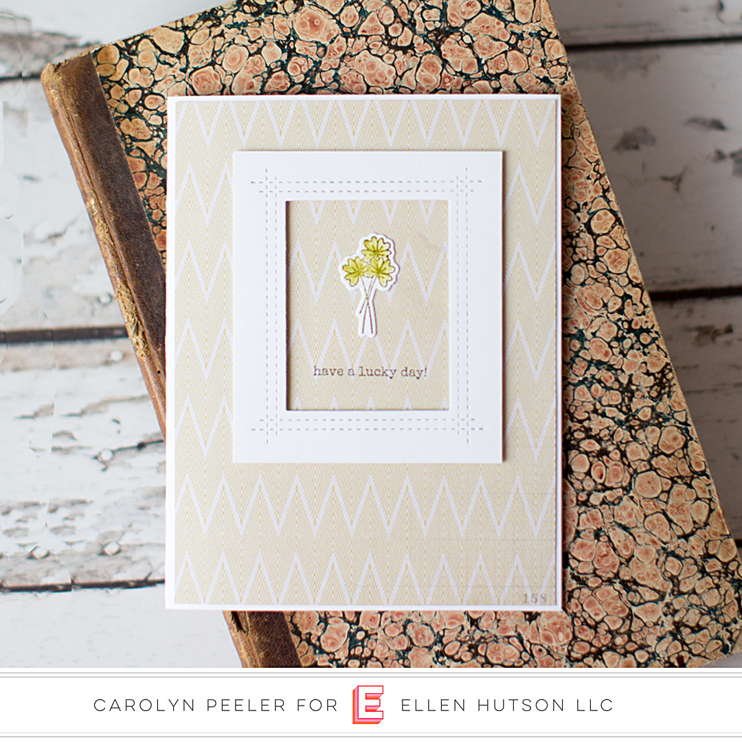 Essentials by Ellen Bear Ware 3 card by Carolyn Peeler