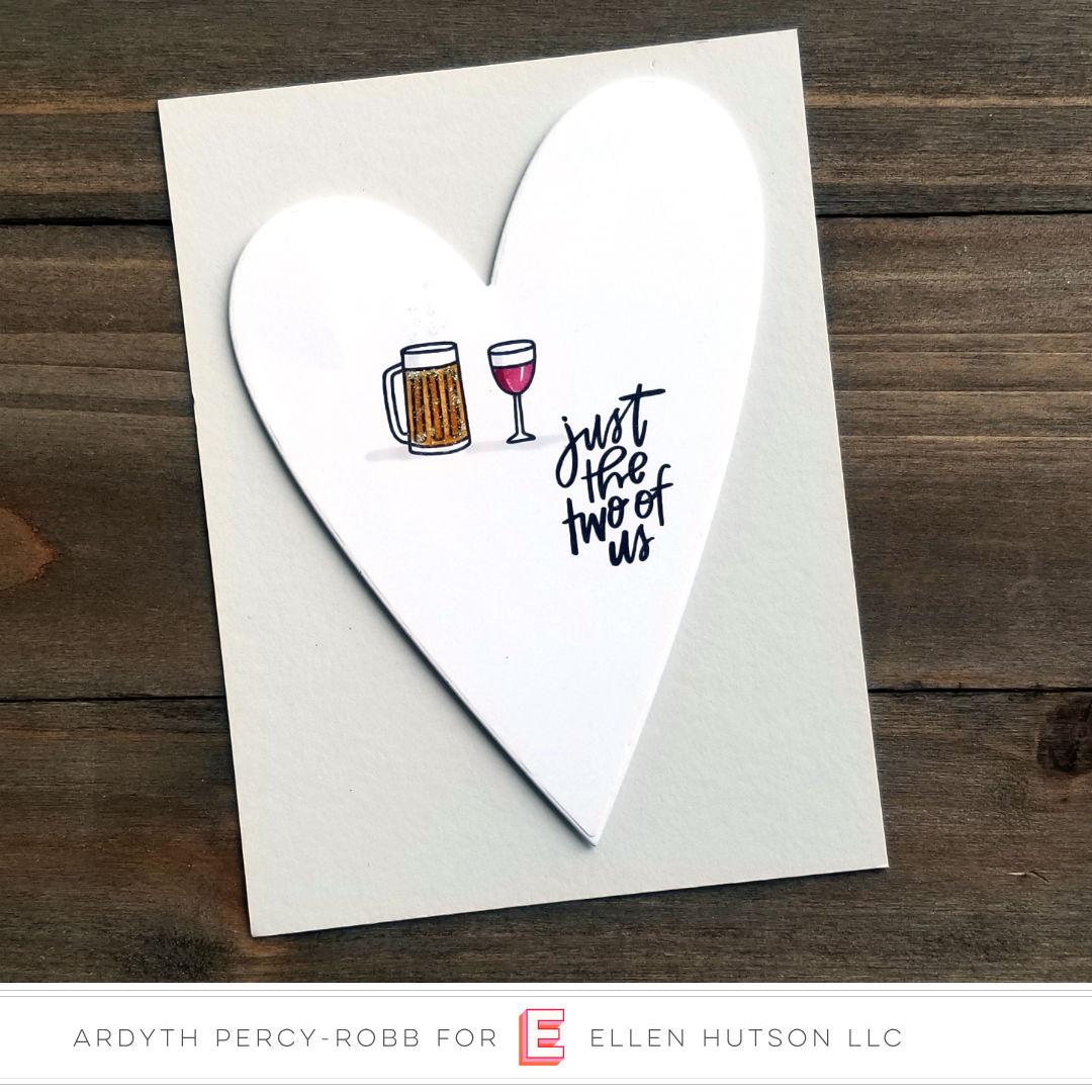 Essentials by Ellen It's A Date card by Ardyth Percy-Robb