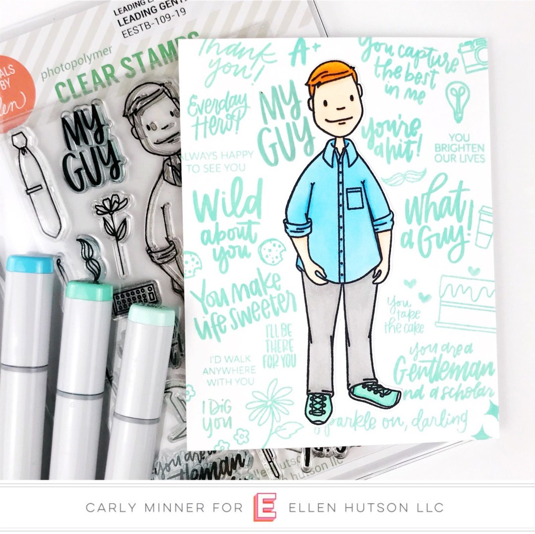 Essentials by Ellen Leading Gentleman card by Carly Tee Minner
