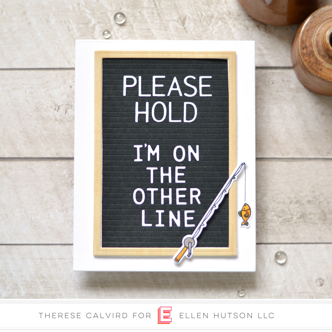 Essentials by Ellen Leading Gentleman card by Therese Calvird