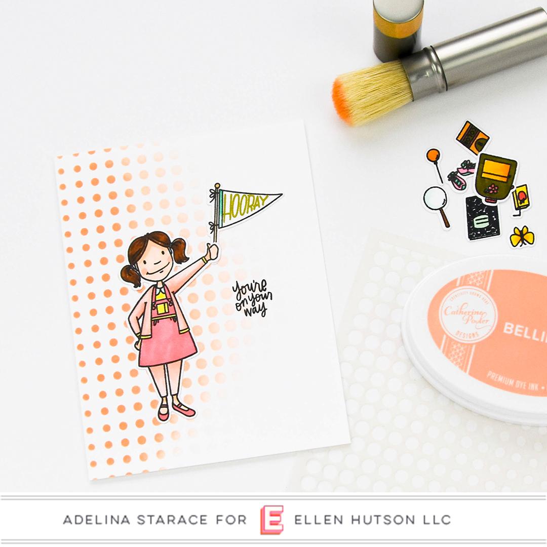 Essentials by Ellen Little Lady card by Adelina Starace