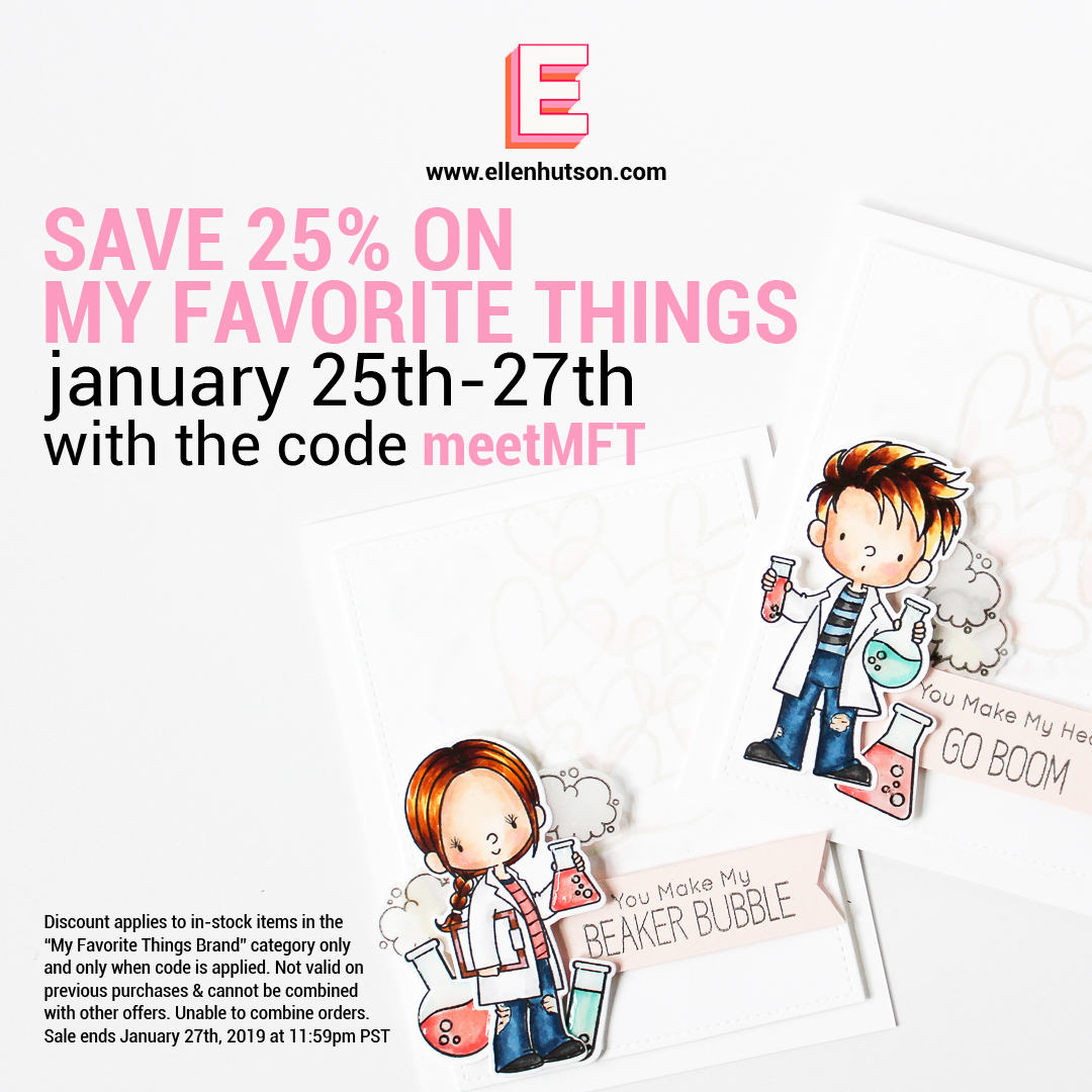 MFT sale at Ellen Hutson LLC January 25th-27th 2019
