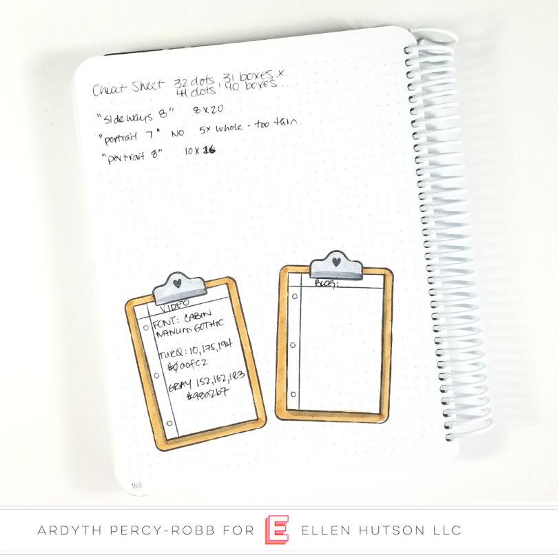 Planner Cheat Sheet