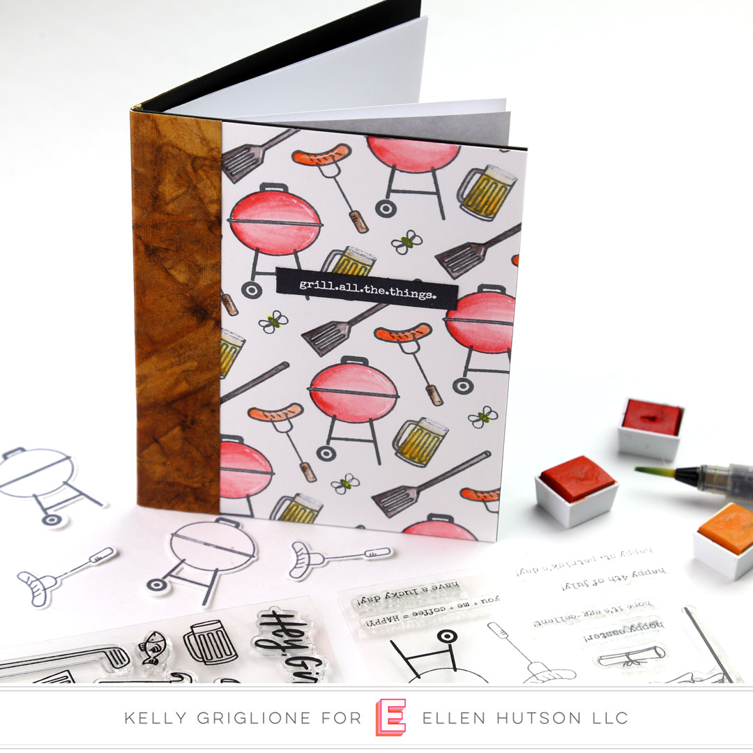 5 Ways To Use Essentials by Ellen Bear Ware 3 - custom pattern