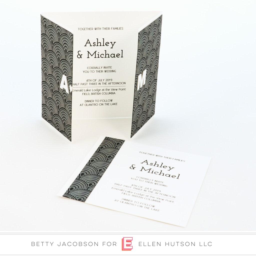 DIY Foiled Wedding Invites with the Gemini Foil Press