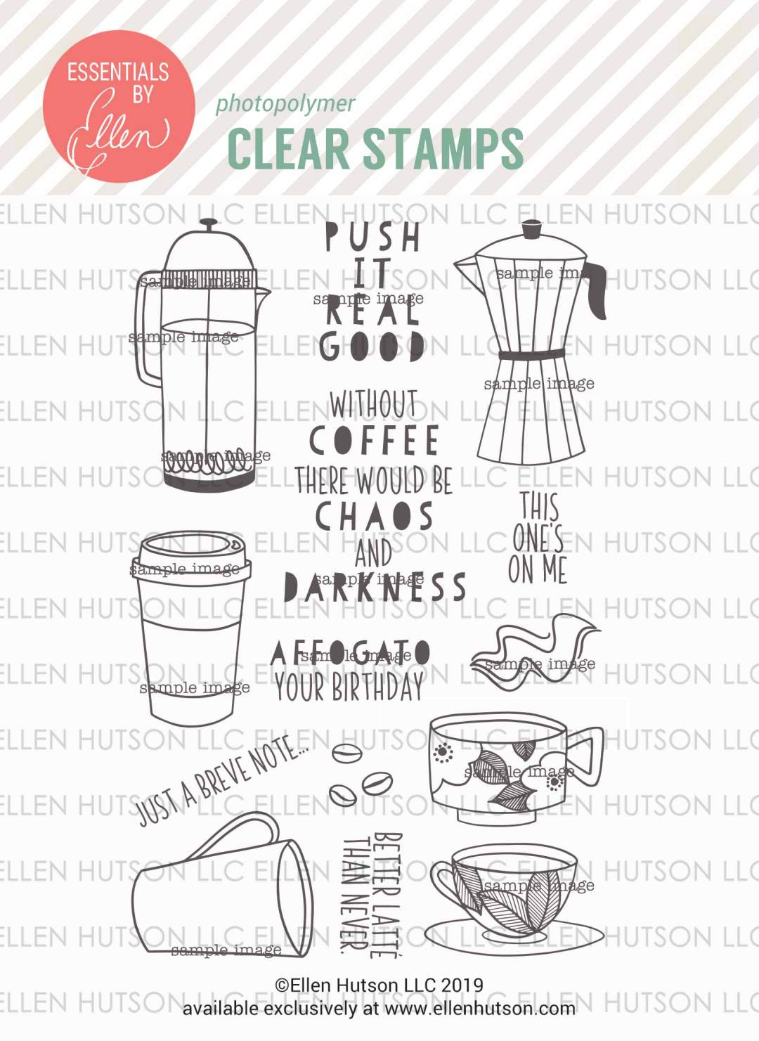 Essentials by Ellen A Breve Note stamps