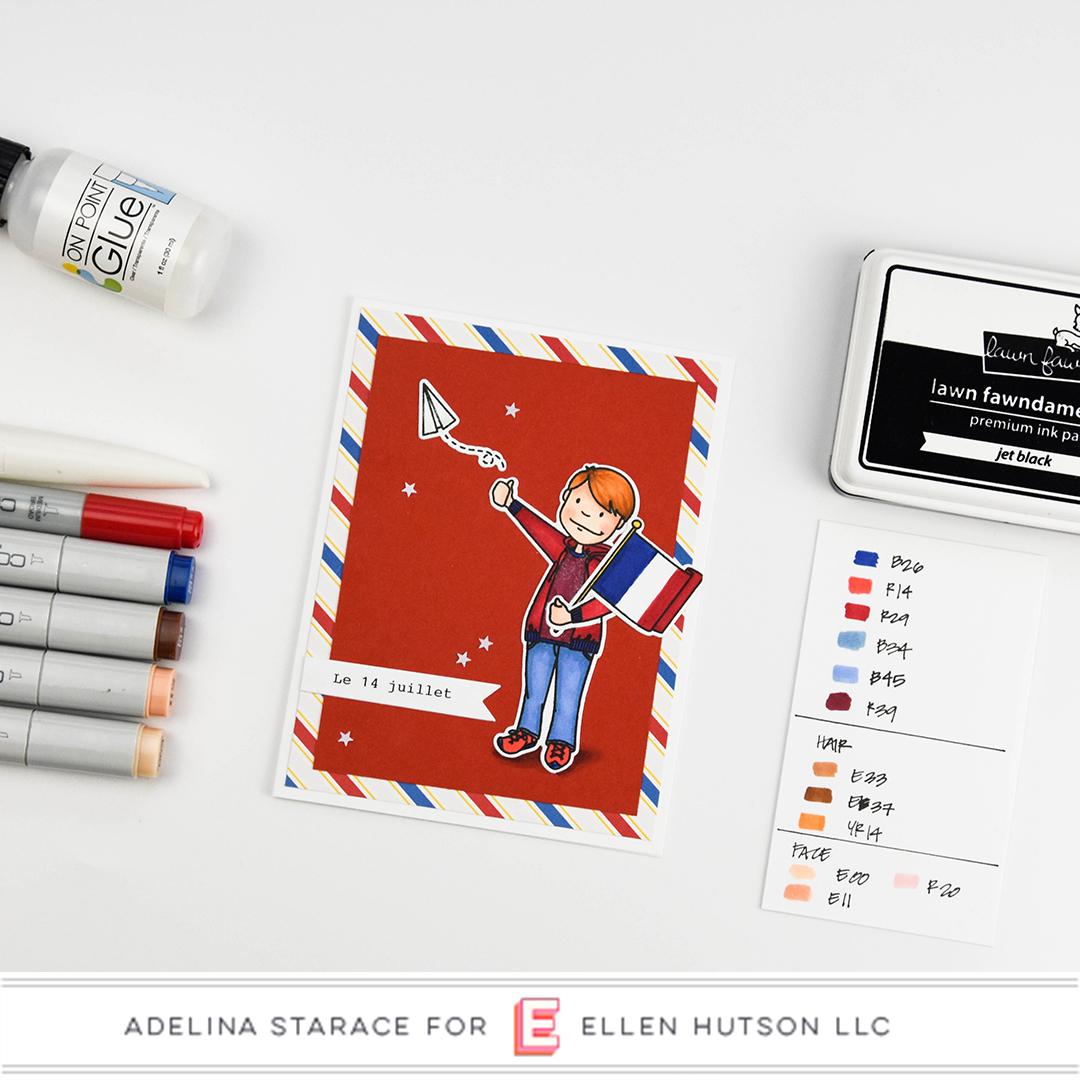 Essentials by Ellen Little Gentleman card by Adelina Starace
