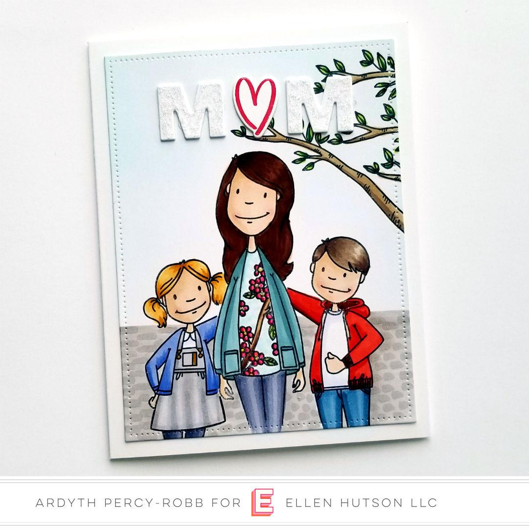 Essentials by Ellen Little Gentleman card by Ardyth Percy-Robb