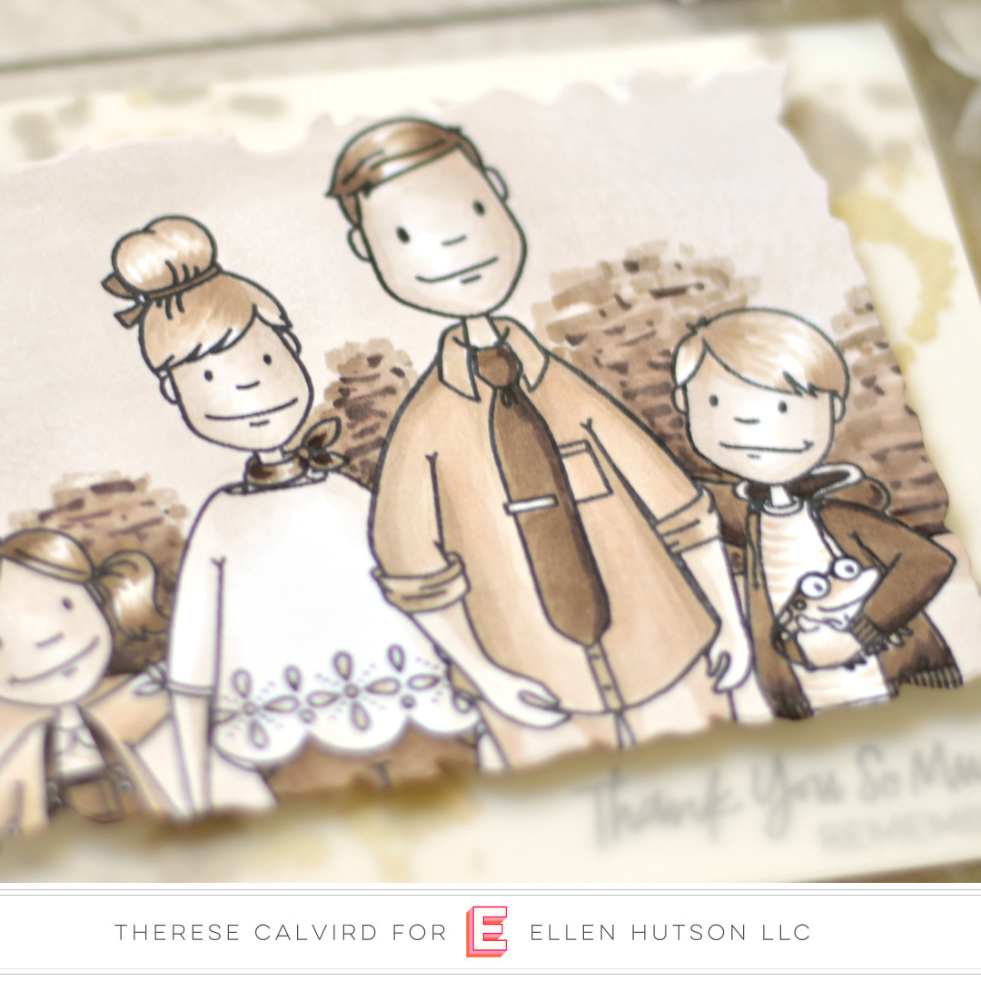 Essentials by Ellen Little Gentleman card by Therese Calvird
