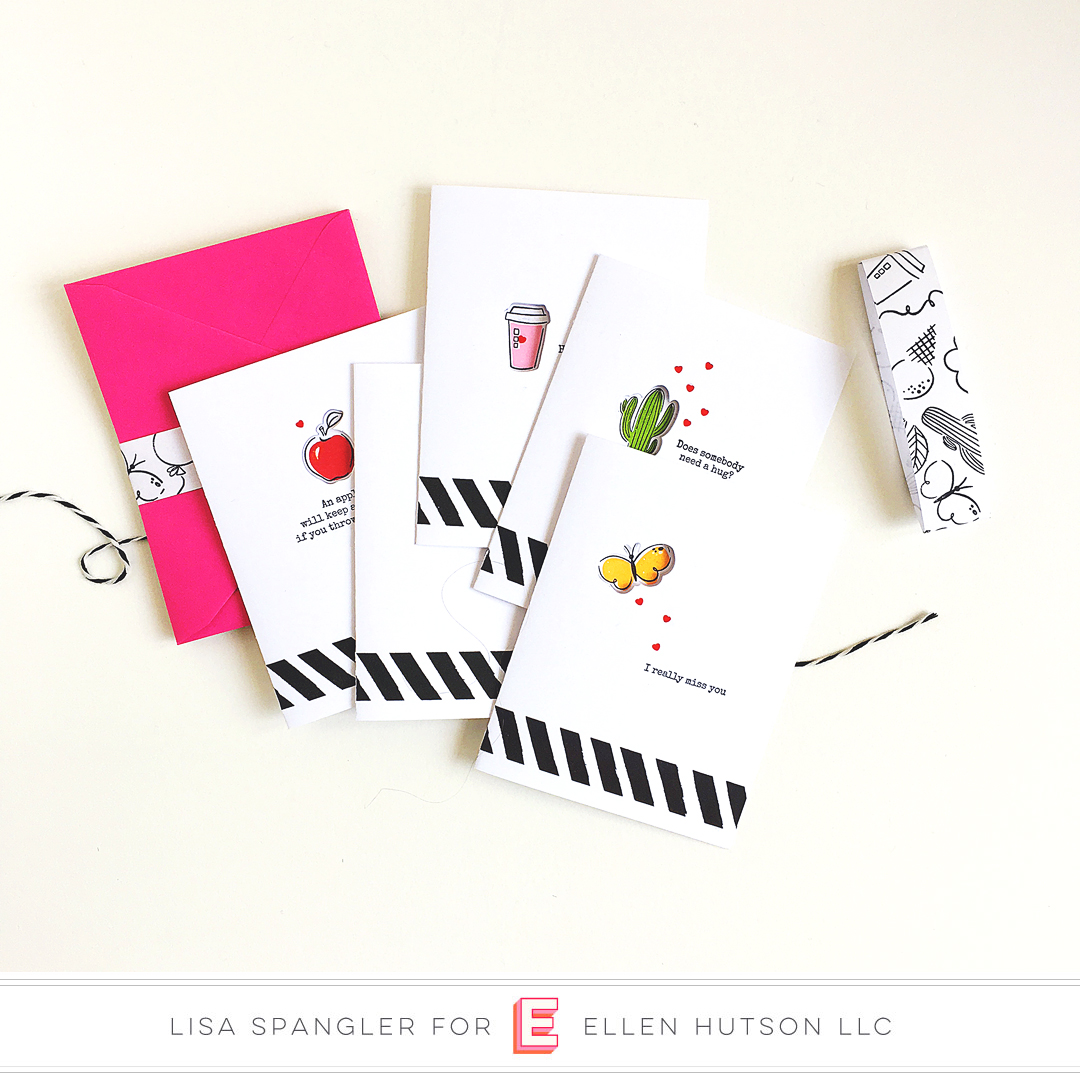 Clean & Simple Cards with Essentials by Ellen Everyday Doodles