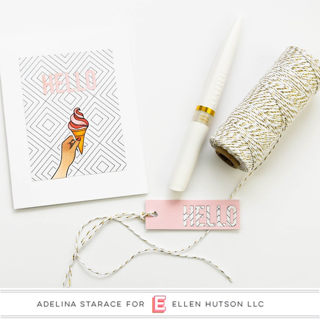 Essentials by Ellen Handful card by Adelina Starace