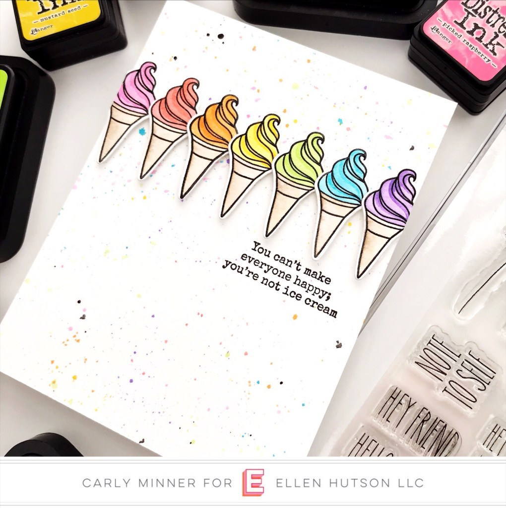 Essentials by Ellen Handful card by Carly Tee Minner
