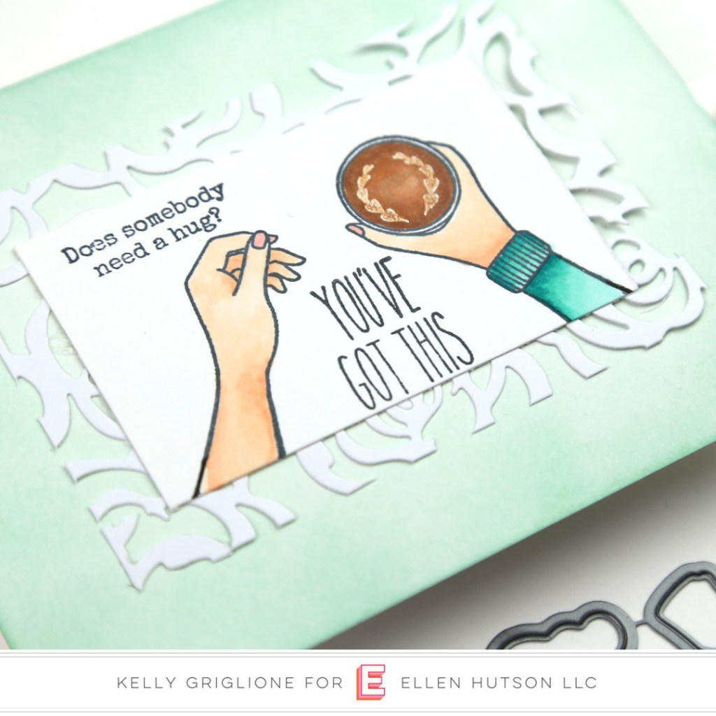 Essentials by Ellen Handful card by Kelly Griglione