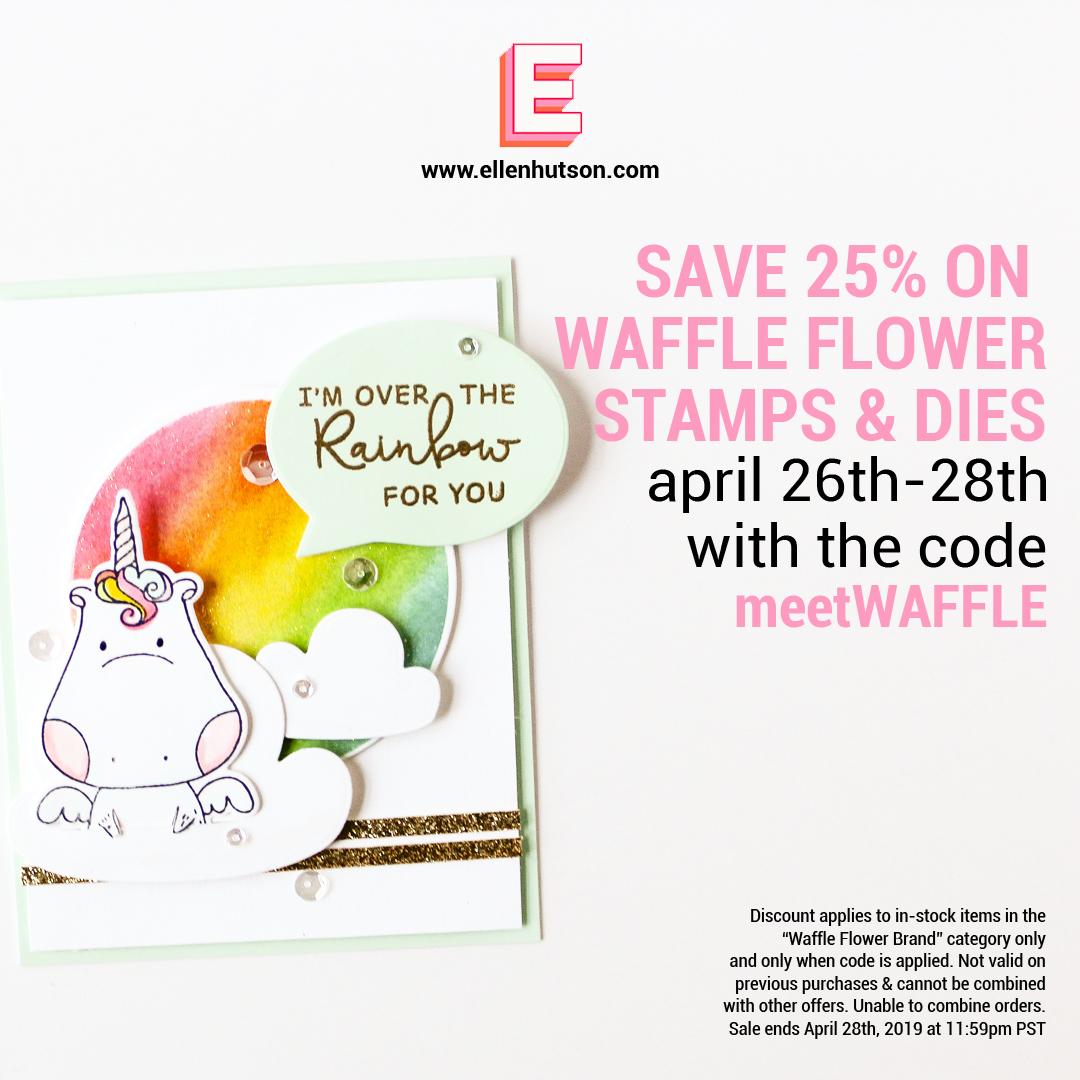 Waffle Flower Sale at Ellen Hutson LLC