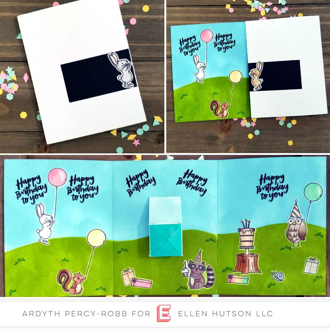Confetti Flinger Birthday Card With Essentials By Ellen