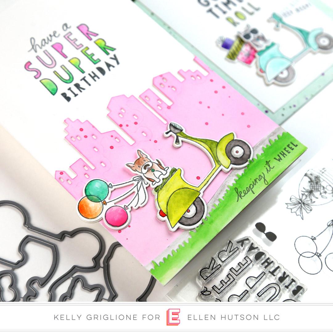 Essentials by Ellen Big City card by Kelly Griglione