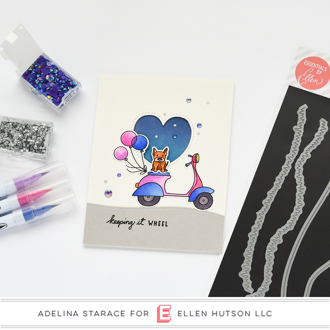 Essentials by Ellen Landscapes card by Adelina Starace