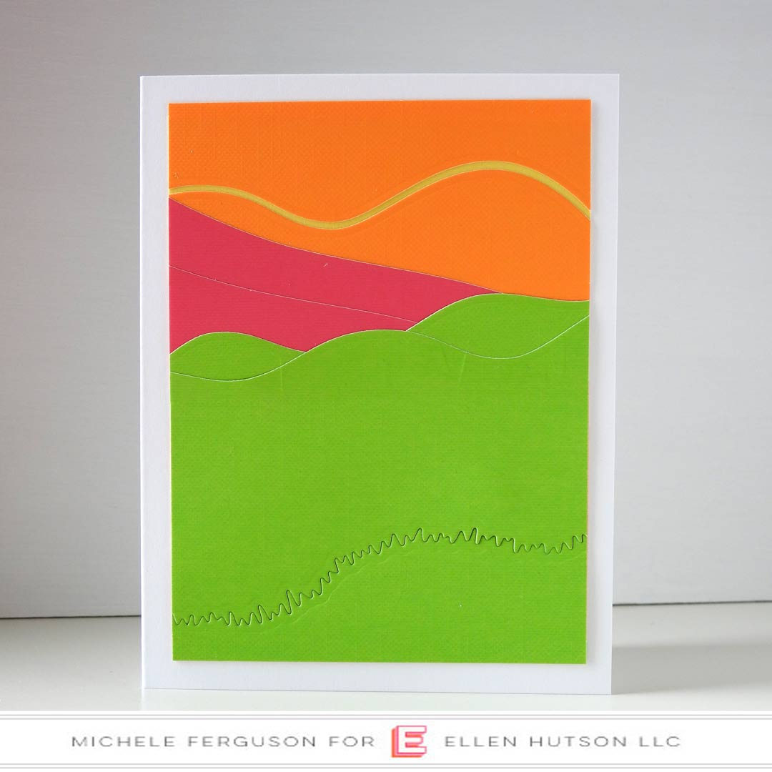 Essentials by Ellen Landscapes card by Michele Ferguson