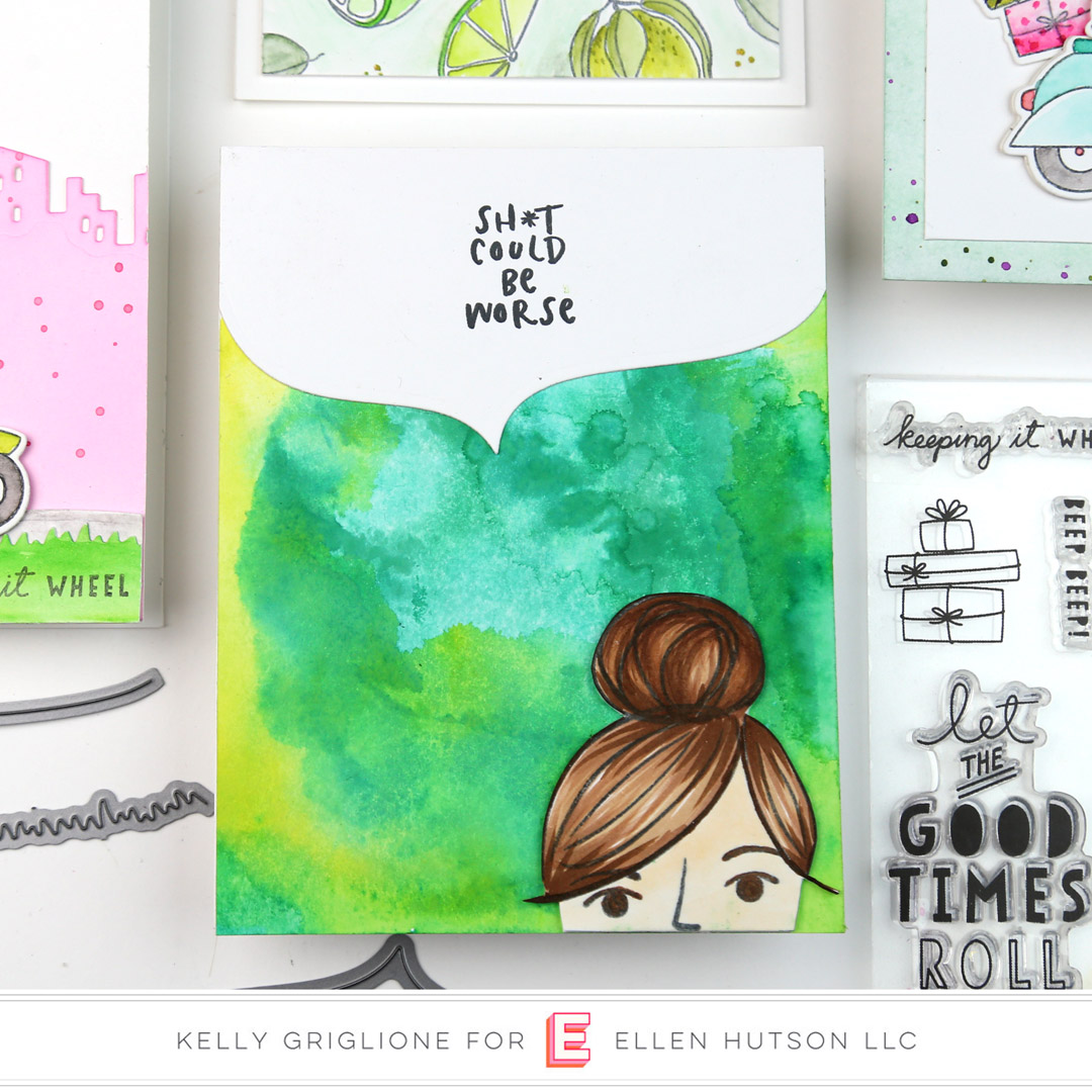 Essentials by Ellen Voices In My Head card by Kelly Griglione