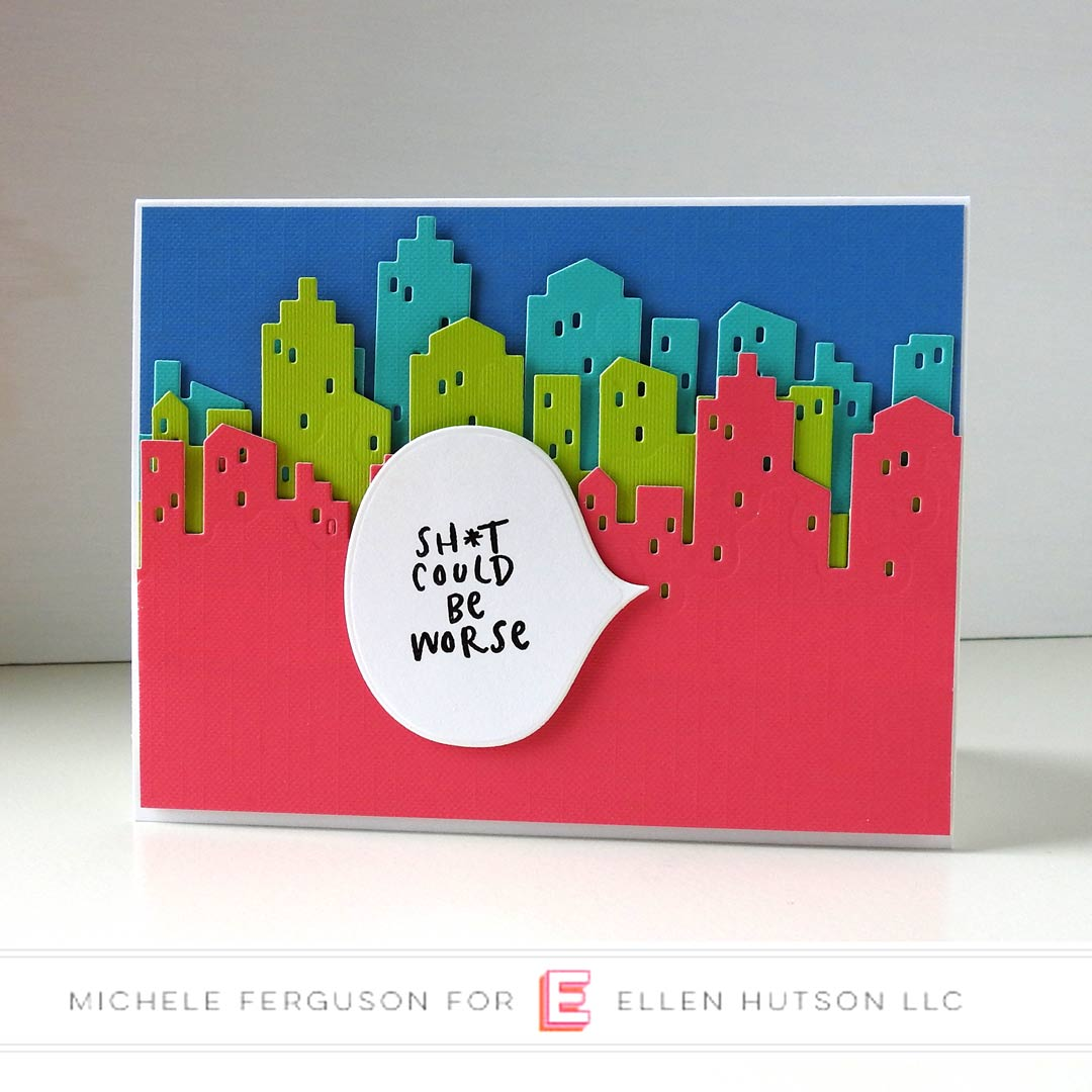 Essentials by Ellen Voices In My Head card by Michele Ferguson
