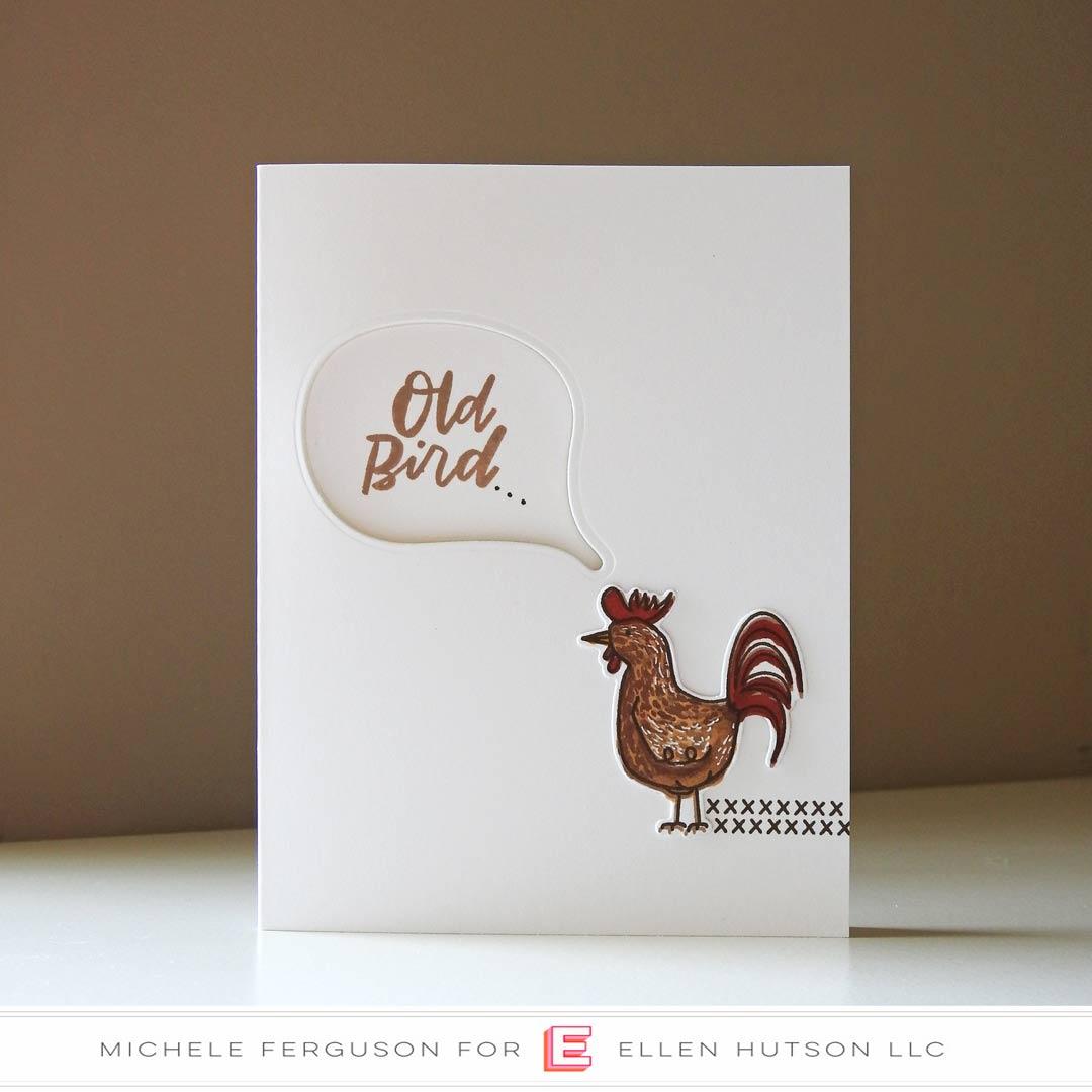 Essentials by Ellen Good Egg card by Michele Ferguson
