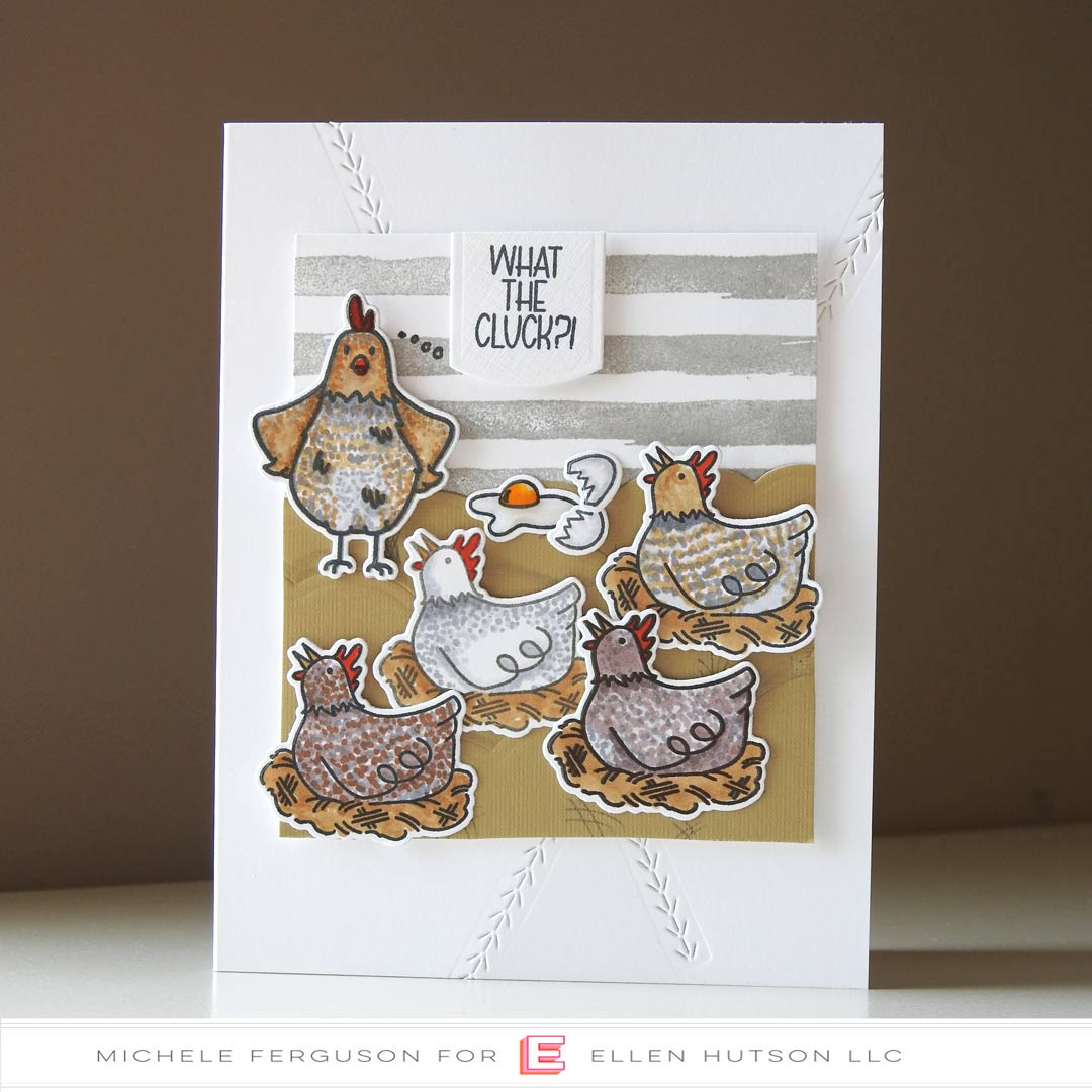 Essentials by Ellen Good Egg card by Michele Ferguson