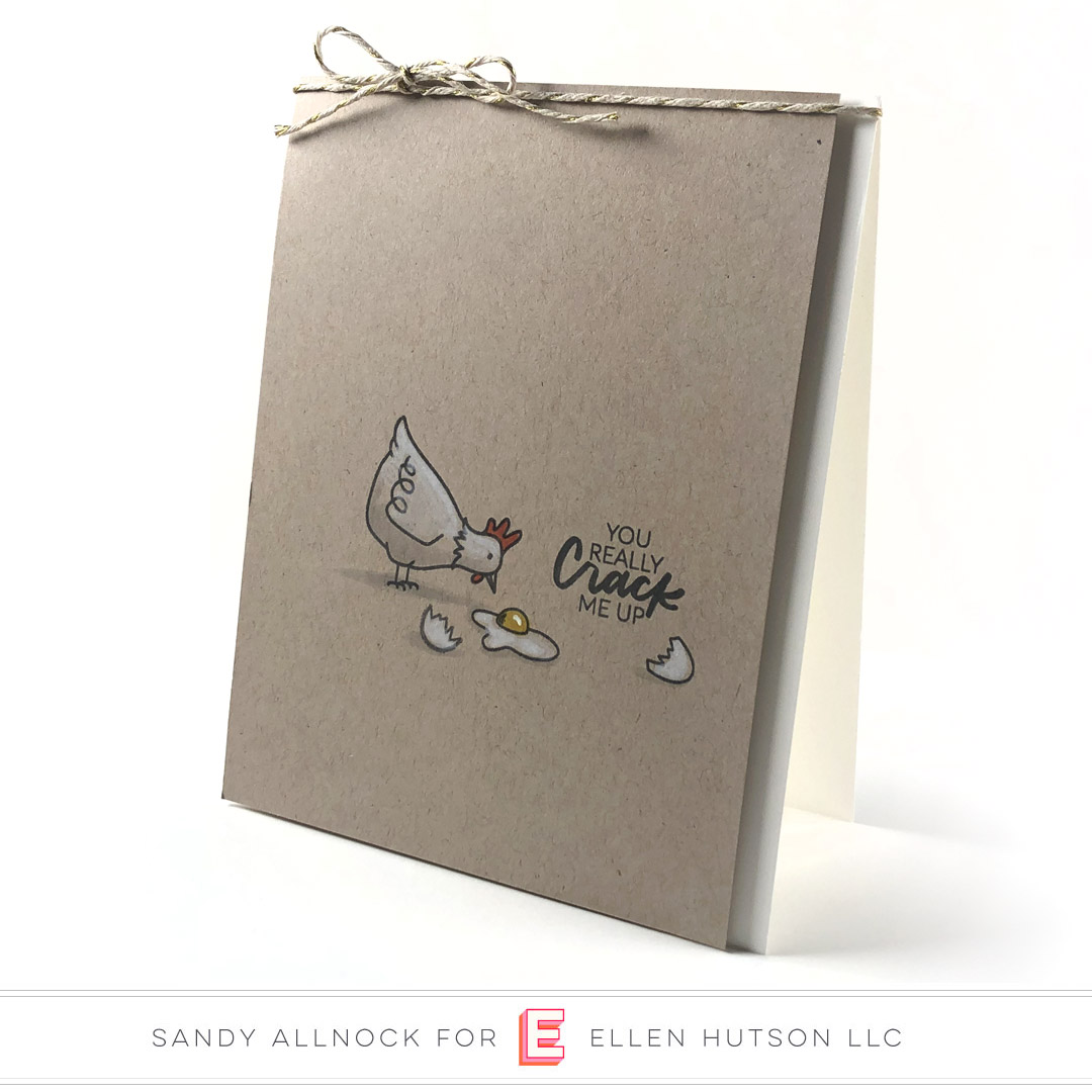 Essentials by Ellen Good Egg card by Sandy Allnock