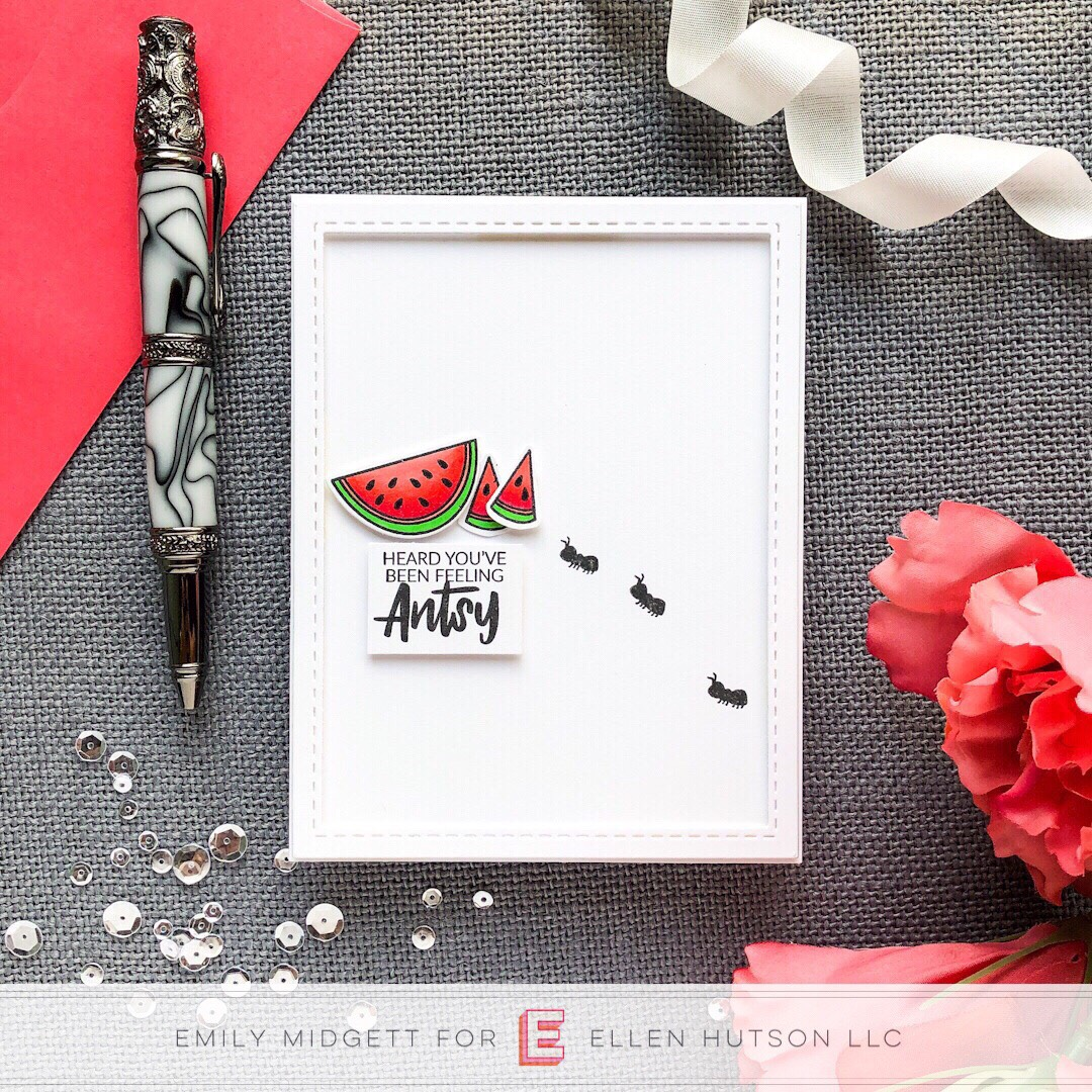 Essentials By Ellen Life's A Picnic card by Emily Midgett