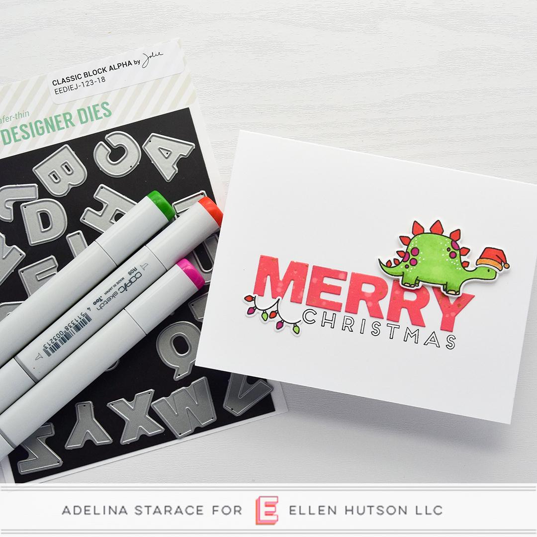 Essentials by Ellen Dinomite Christmas by Adelina Starace