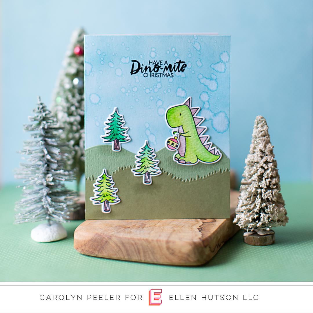 Essentials by Ellen Dinomite Christmas by Carolyn Peeler