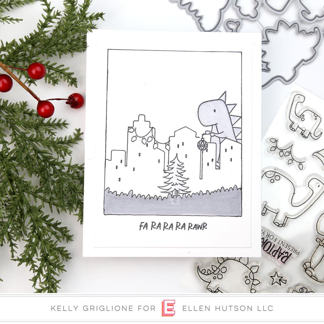Essentials by Ellen Dinomite Christmas by Kelly Griglione