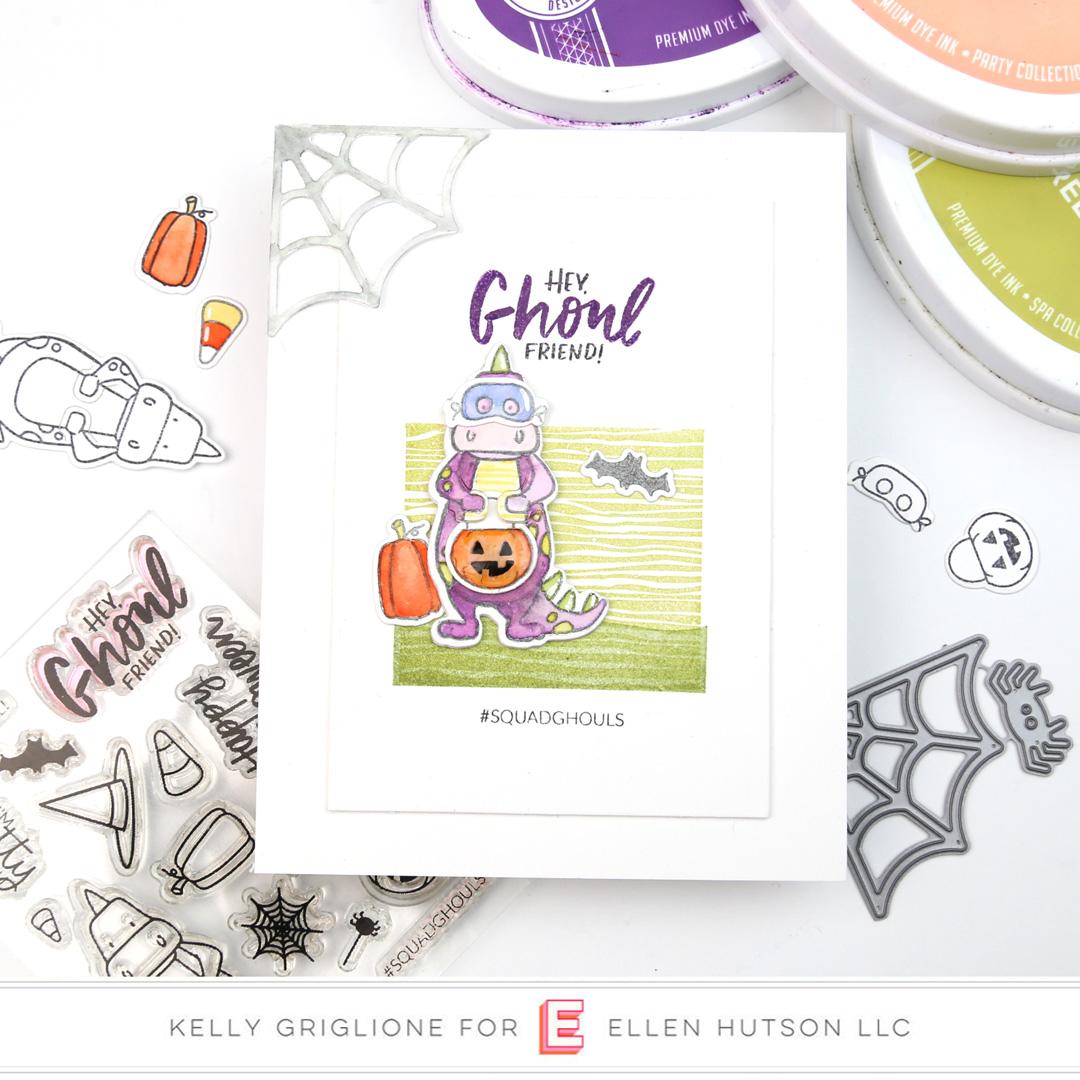 Essentials by Ellen Dinomite Halloween by Kelly Griglione