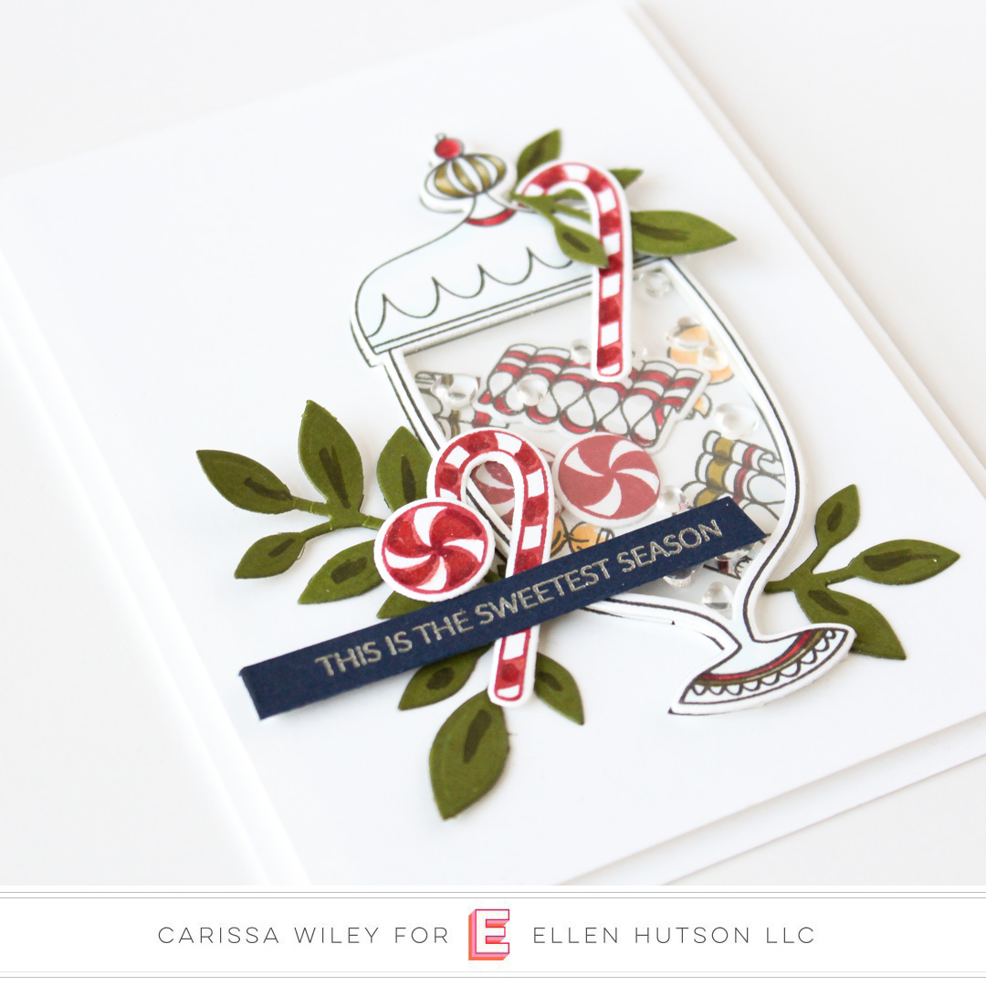 Essentials by Ellen Hard Candy Christmas by Carissa Wiley