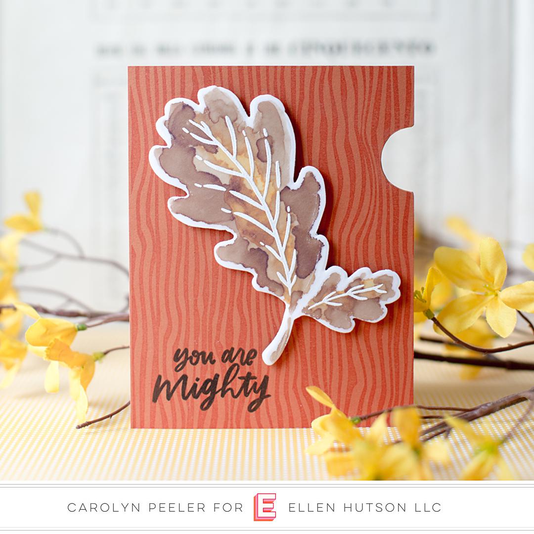 Essentials by Ellen Mondo Oak Leaf by Carolyn Peeler