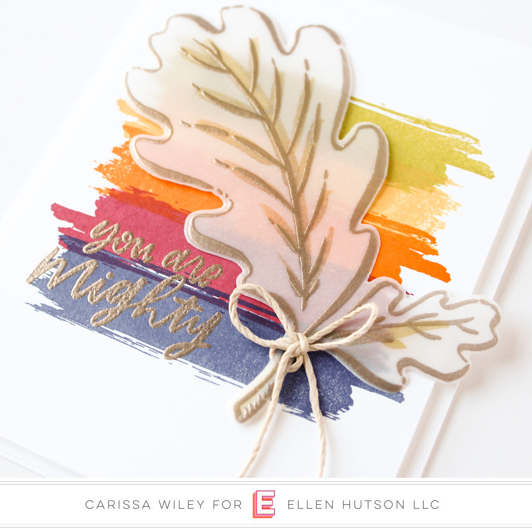 Essentials by Ellen Mondo Oak Leaf by Carissa Wiley